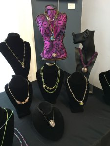 Trish - Jewelry on display